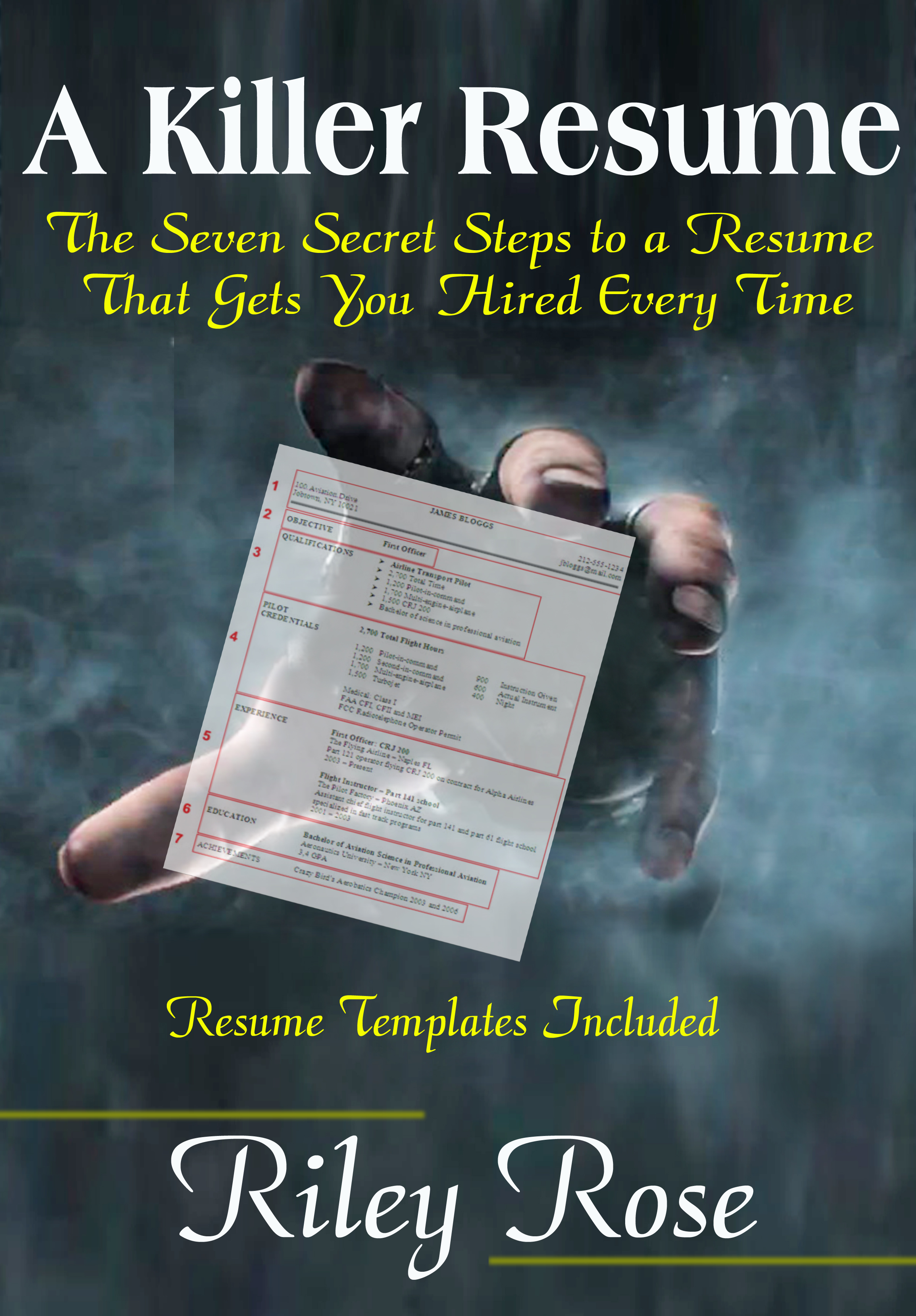 a killer resume book cover 2 072813
